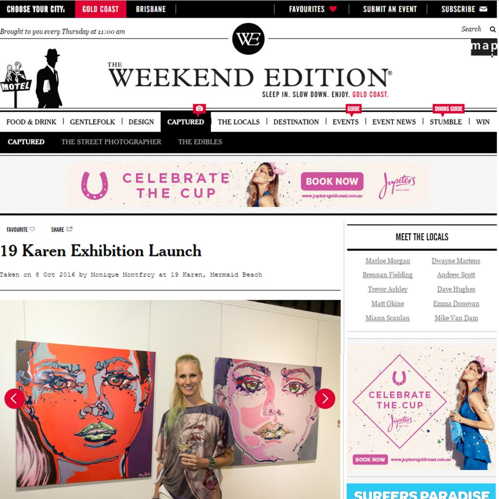 19 Karen Exhibition Launch