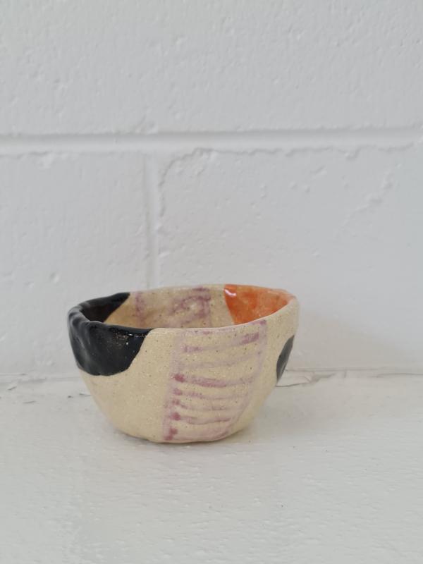 Tri-Color Small Bowl